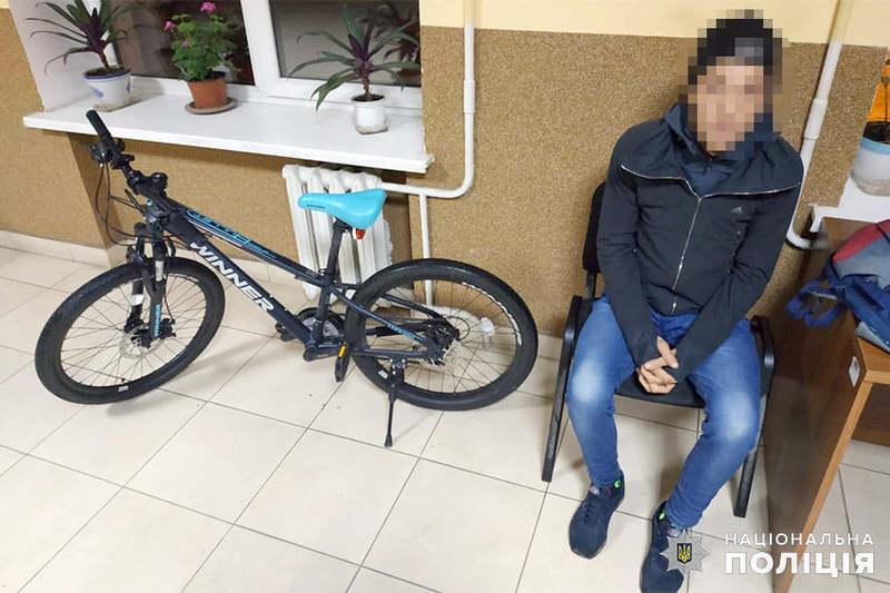 У Хмельницькому поліцейські затримали ймовірного серійного велокрадія