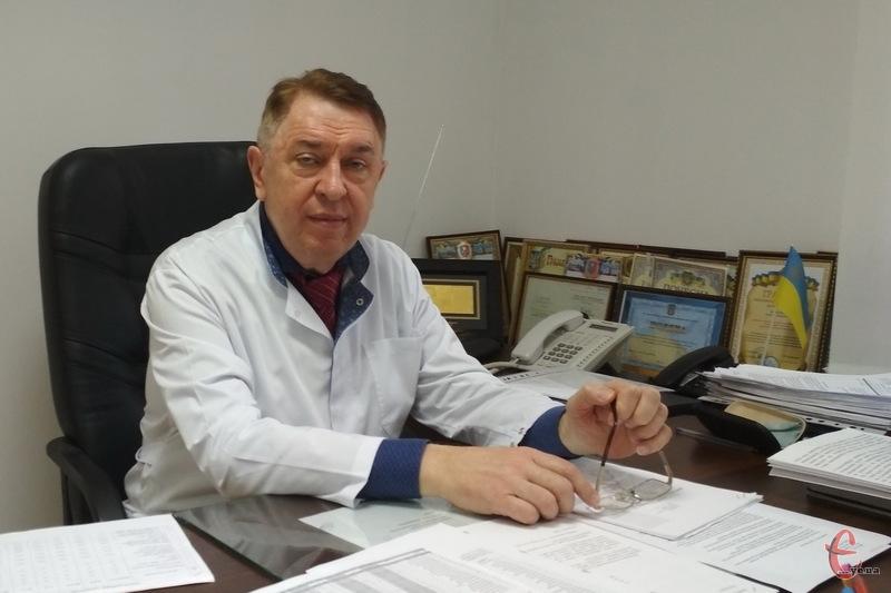 Головний лікар обласного протитуберкульозного диспансеру Сергій Василенко
