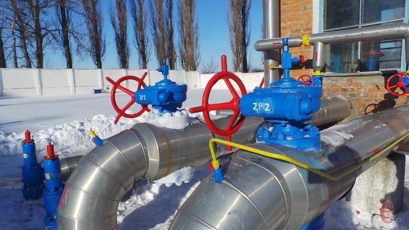 В області за послуги із транспортування газу живими коштами сплачують лише промислові споживачі