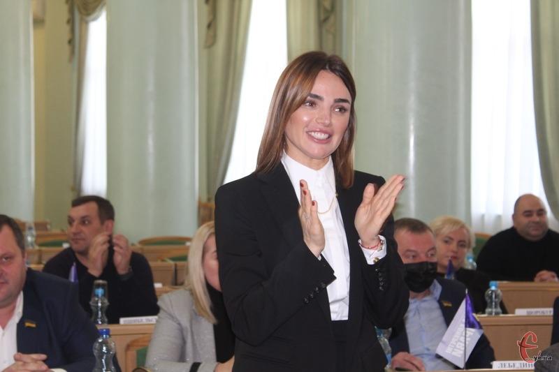 Віолеті Лабазюк суд повернув повноваження голови облради 24 грудня