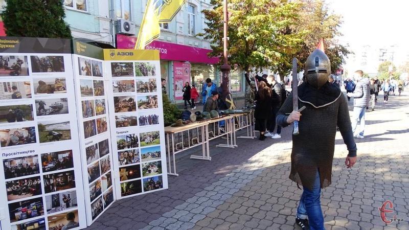 На вулиці Проскурівській пройшов фестиваль «Лицарський хрест»