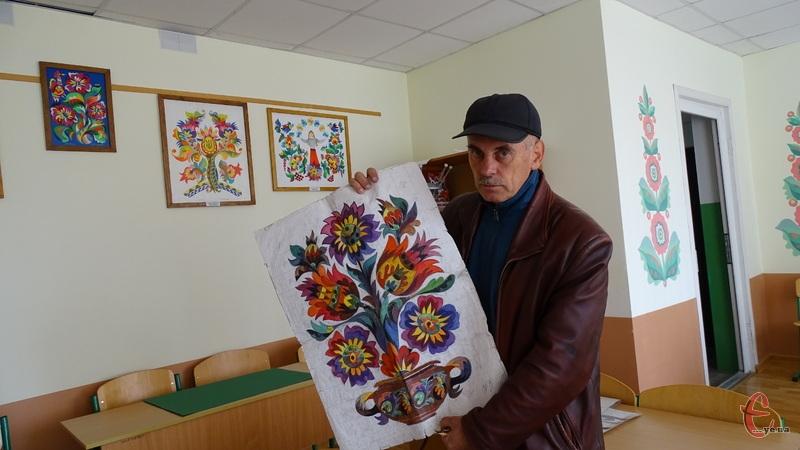 Виставку робіт Самчиківського розпису привезуть до Хмельницького