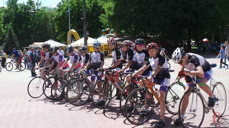 Участь у естафеті візьмуть велосипедисти