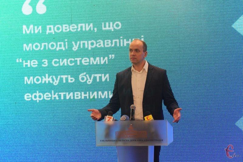 Серед інших деталей і емоційних реплік Дмитро Габінет зазначив, що цього року було найбільше корупційних арештів пов'язаних з органами влади в тому числі на території Хмельниччини.