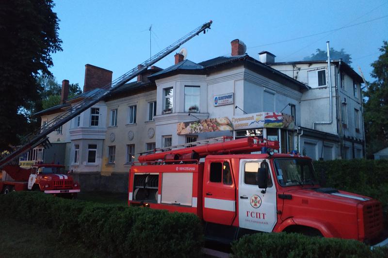 До ліквідації пожежі залучалось 7 одиниць техніки та 19 чоловік особового складу