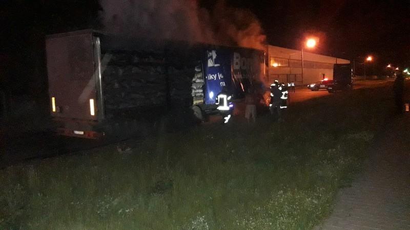 Пожежникам вдалося приборкати пожежу на десять хвилин