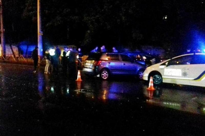 Аварія сталася на вулиці Кам`янецькій