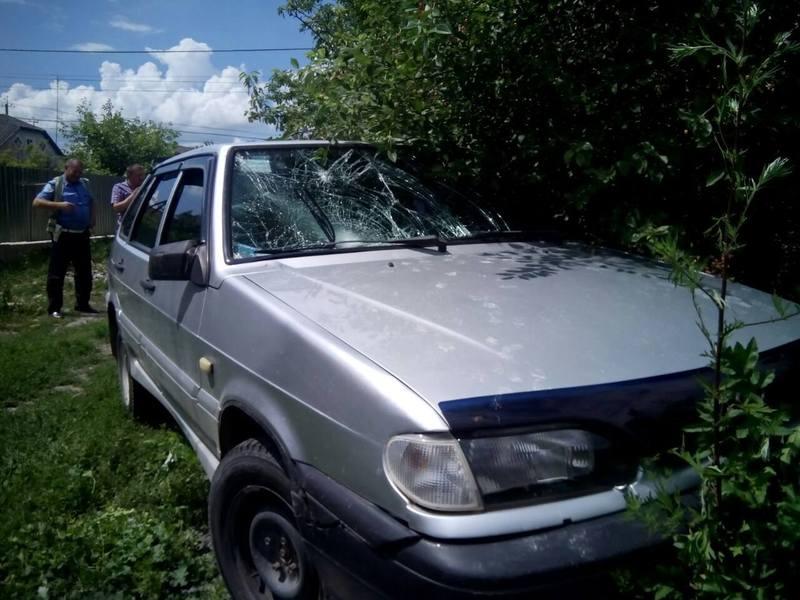 Автомобіль і водія, який збив двох жінок, знайшли лише через півдоби.