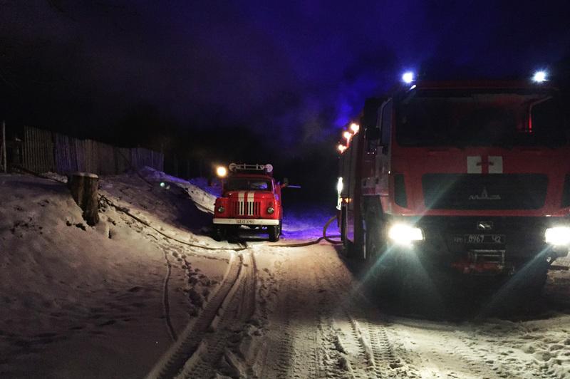 До гасіння пожежі була залучена й місева пожежна команда села Миролюбне