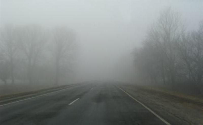 По області туман протримається до завтрішнього ранку