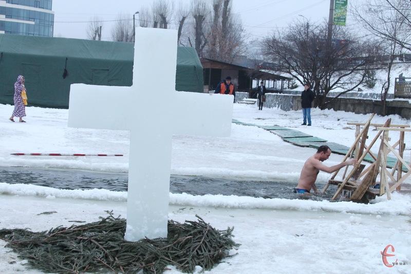Скупатися на міському пляжі Хмельницького 19 січня можна до 18.00