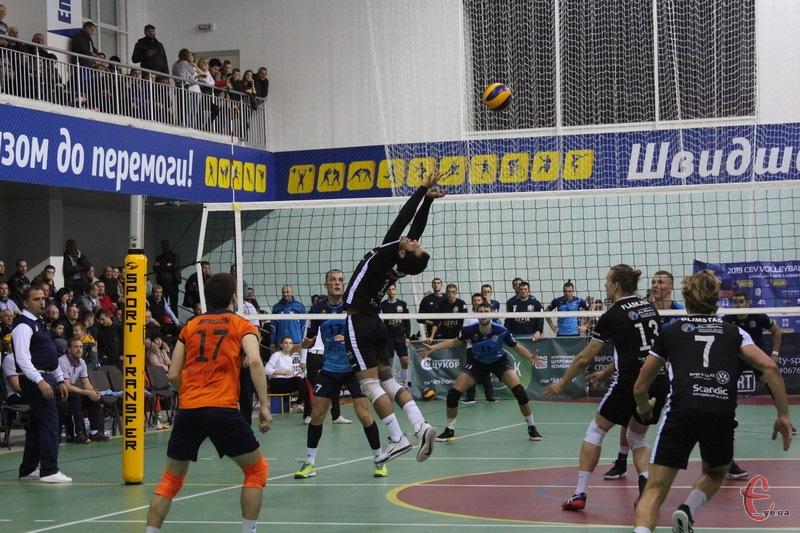 Вже 4-5 листопада в Городку пройдуть єврокубкові матчі