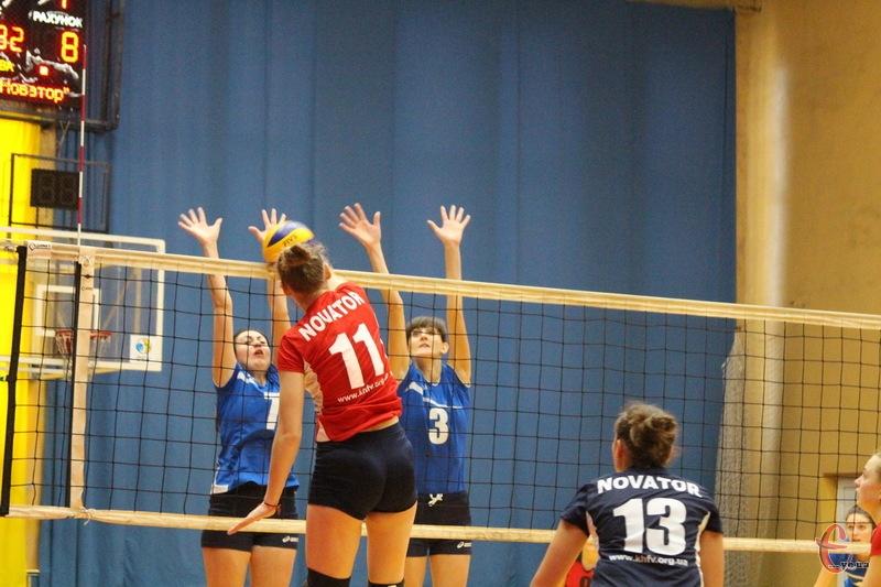 Свй перший матч чергового туру волейболістки Новатора проведуть 10 лютого о 18.00