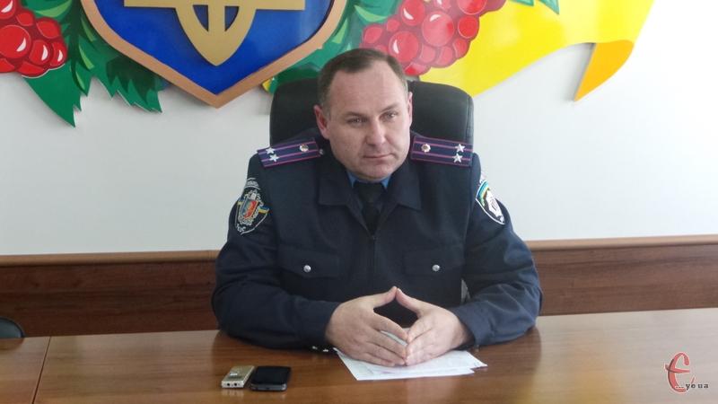 Володимир Петрович на посаді виконувача обов'язків керівника поліції міста