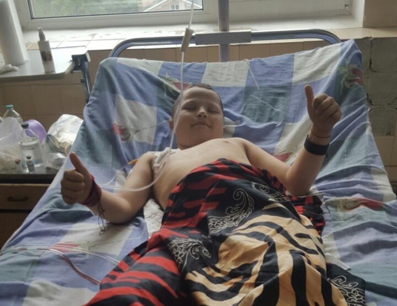 Артем після операції.