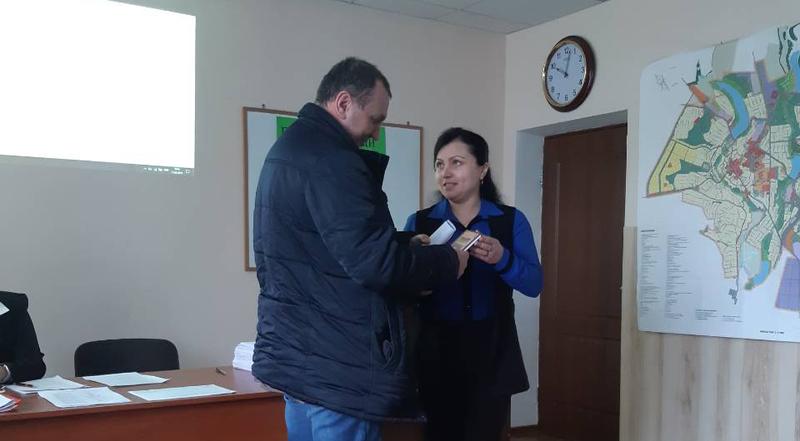 Відзнаку Анатолію Ференсу вручили у Городоцькій міській раді