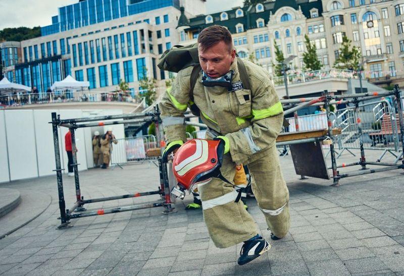 Минулого року Лісовогринівецькі рятувальники брали участь в іграх вогнеборців у Києві