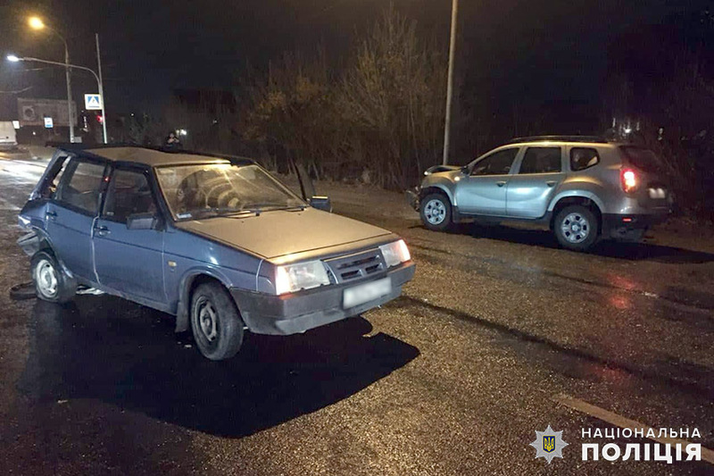 На Львівському шосе зіткнулися «Рено Дастер» та «ВАЗ 21091»
