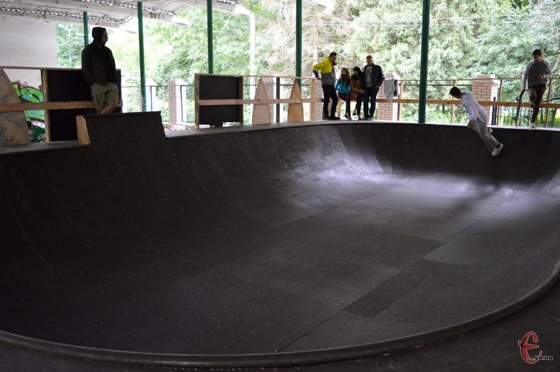 Урбан-парки на своїй території, як правило, мають кілька майданчиків для різних видів спорту