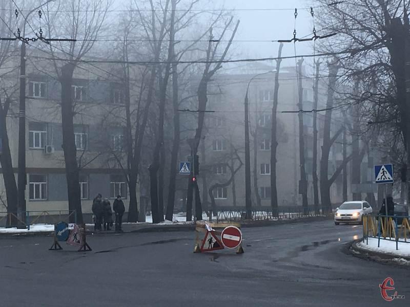 Вдень вулицю Тернопільську перекриватимуть