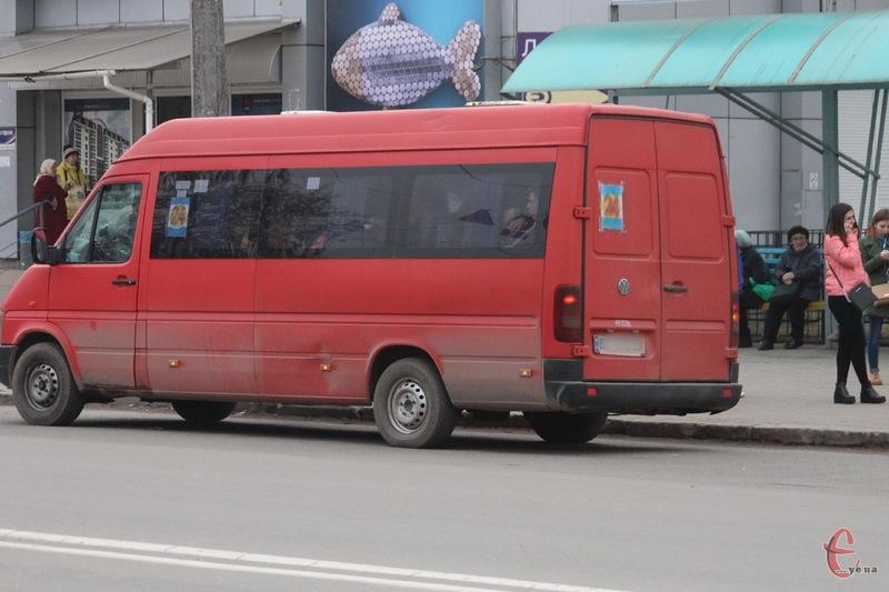 Вже з 23 березня маршрутки в Хмельницькому будуть перевозити пасажирів за 4 гривні