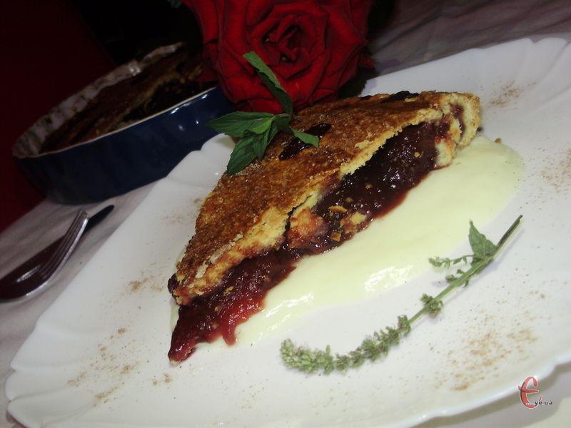 Плюс рецепт найкращого старовинного рецепту пісочного тіста (old-fashioned sweet shortcrust pastry).