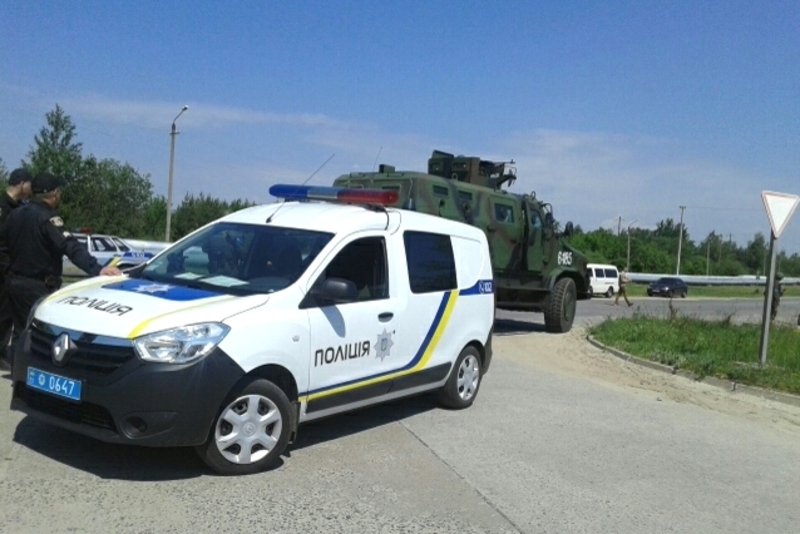 Правоохоронці взяли участь у тактико-спеціальних навчаннях