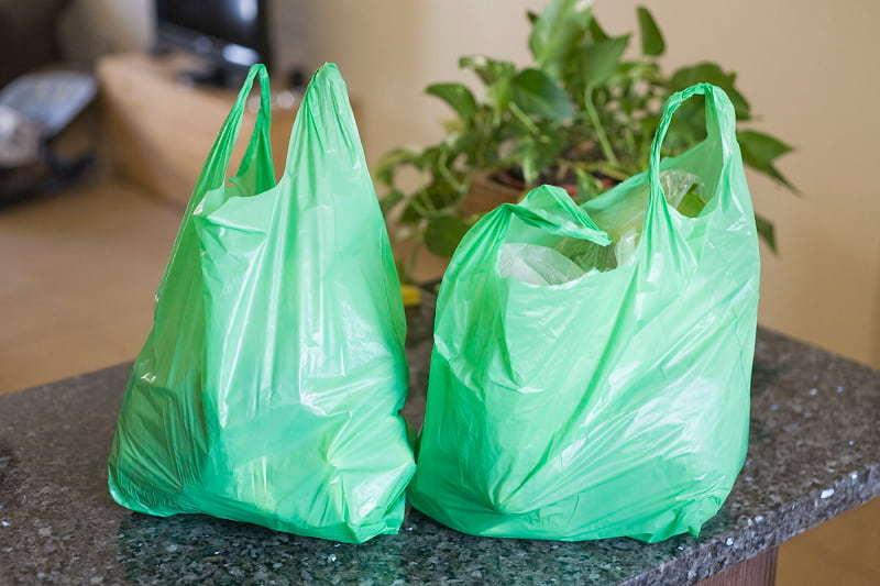 Один пластиковий пакет розкладається понад 100 років