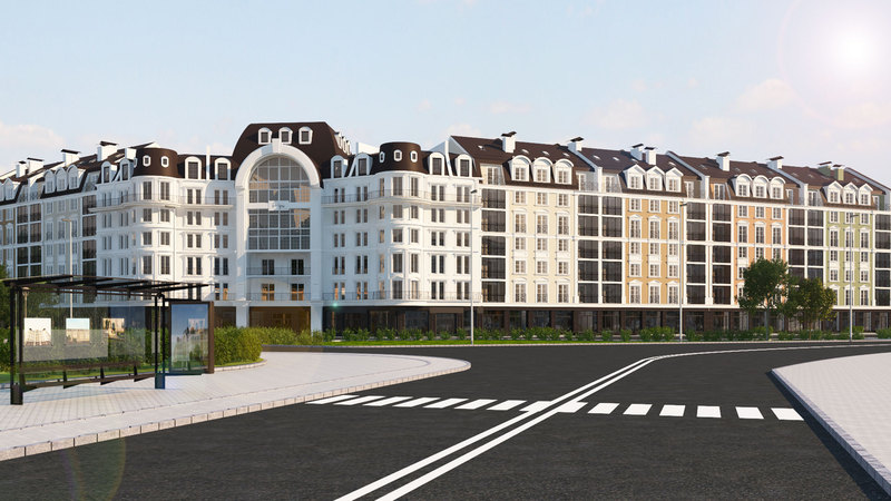"""ЖК """"Агора"""" розташований у мікрорайоні Озерна, який нині активно розвивається."""