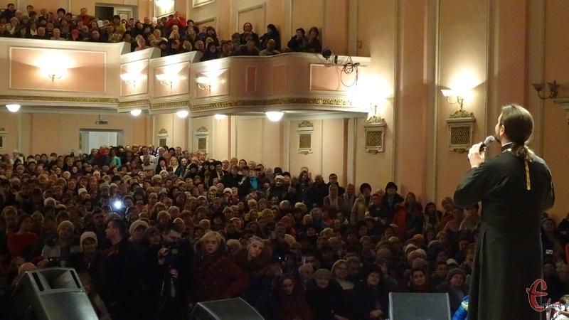 На концерті протоієрея Олександра Клименка був аншлаг