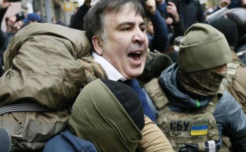 Саакашвілі затримали ввечері 8 грудня.