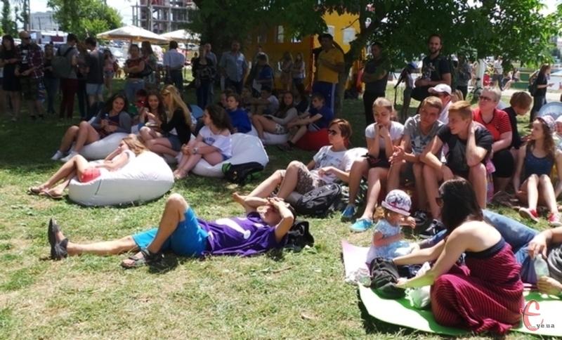 Молодіжний парк став основною територією проведення «Green Festу»