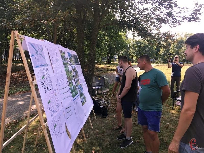 Громадські обговорення проведуть на території парку