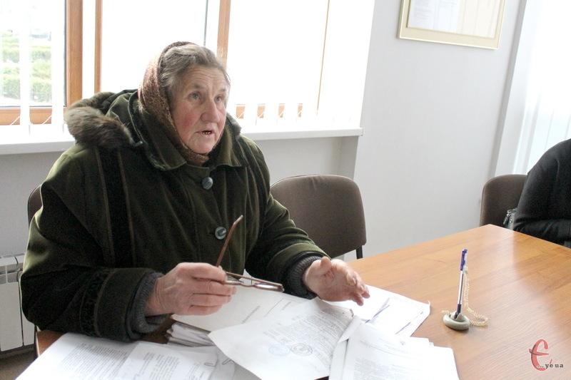 Якщо прокурор області не зустрінеться з Євгенією Омельчук, то жінка погрожує оголосити голодування та прив'язати себе до дверей прокуратури