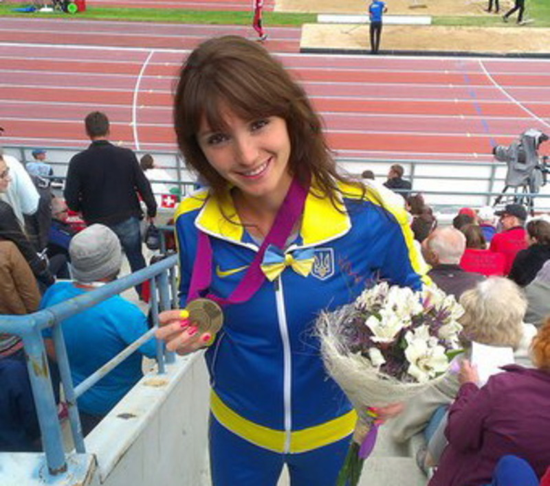 Людмила Оляновська другий місяць поспіль стає кращою легкоатлеткою України за підсмуками місяця, що минув