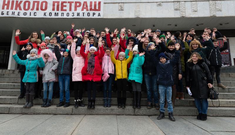 Підтримати співочу хмельничанку 16 березня до столиці їздило два автобуси дітей із округу нардепа №188.