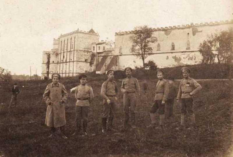 Штаб 34-го армійського корпусу розмістився в меджибізькому замку
