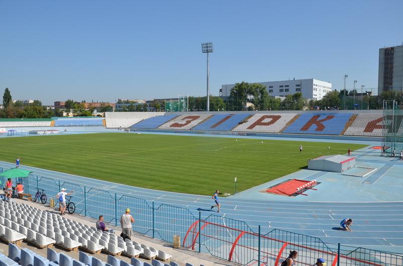 Легкоталети змагалися на стадіоні Зірка