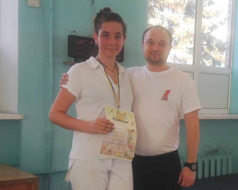 Софія Коваленко виграла перший етап Дитячої ліги-2016
