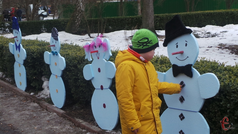 Це, ймовірно, останні сніговики цього року