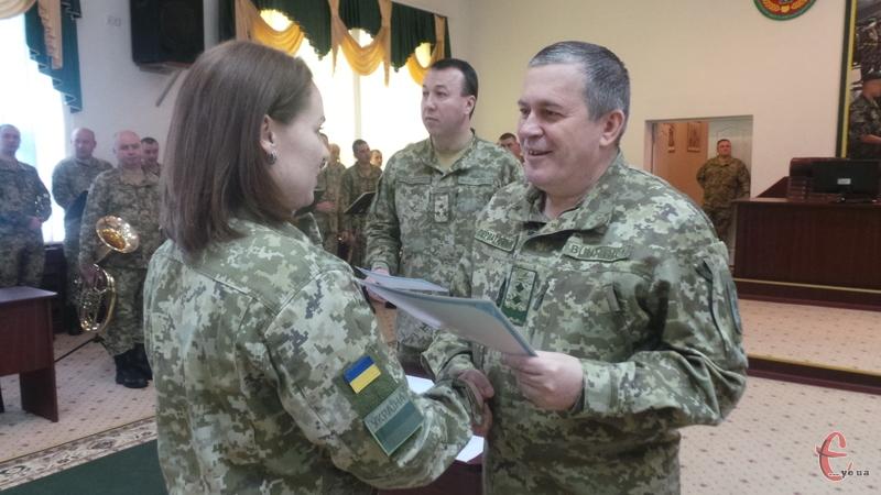 Дипломи вручав заступник Глави Держприкордонслужби
