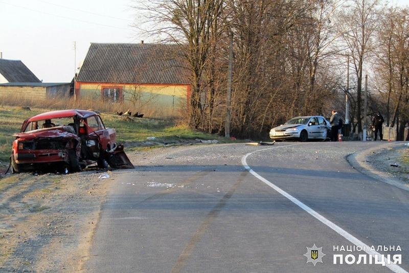 Аварія сталася в Ізяславському районі