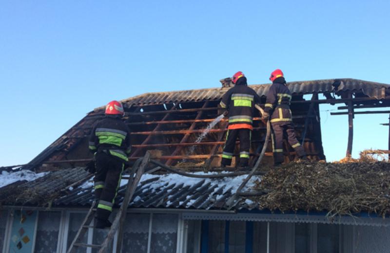 Головне, що в пожежах на Чемеровеччині ніхто з людей не постраждав