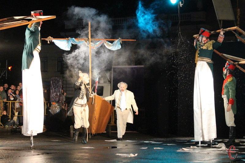 Вистава, яку львівський театр минулого року подарував хмельничанам, сподобалася глядачам
