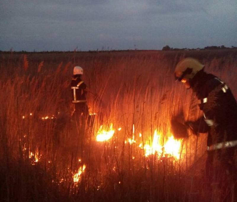 З початку 2020 року на Хмельниччині вже сталися 184 пожежі