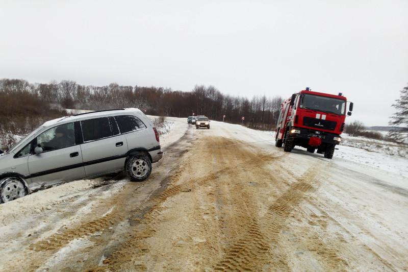 На Білогірщині «Opel Zafira» потрапив у кювет