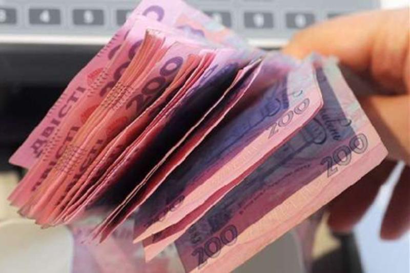 У січні минулого року податку перерахували менше на 100 мільйонів гривень