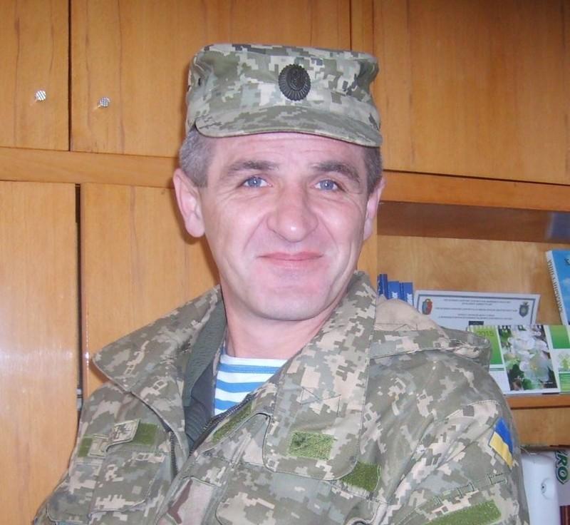 Микола Тріщ отримав нагрудний знак «За оборону Донецького аеропорту»