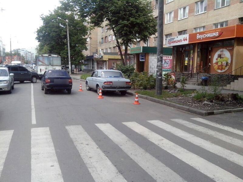 Одна із ДТП сталася по вулиці Зарічанській у Хмельницькому
