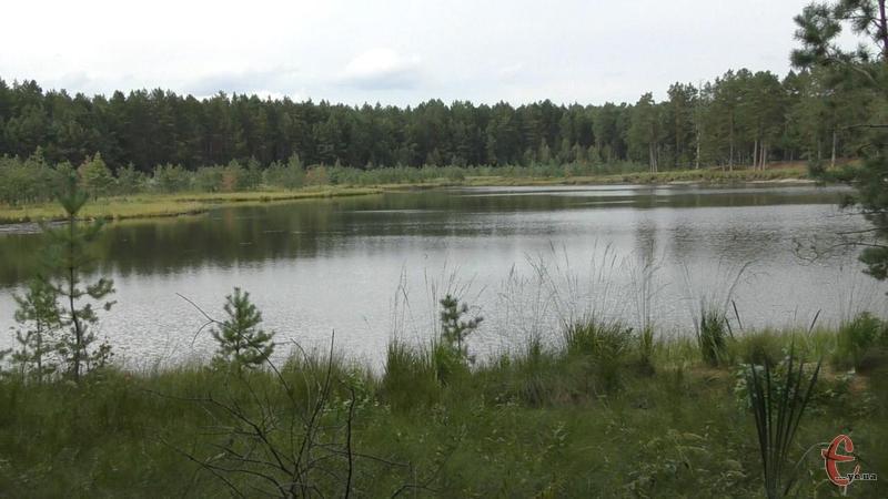 Святе озеро розташовано в Ізяславському районі